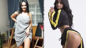 Gelin adayı Naz Mila havluyu attı: Çırılçıplak şov yaptım!