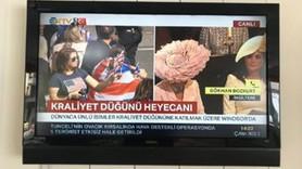 CHP'li vekilden NTV'ye 'kraliyet düğünü' tepkisi: An itibariyle İnce'nin mitingi var, farkında mısın