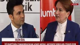 Meral Akşener'den o kanal için bomba iddia: Mitingimizi 10 saniye gösterdiler işlerinden oldular!