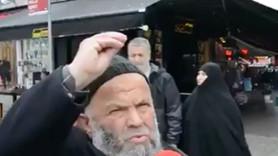 """Sokak röportajı 155'lik oldu! """"Kürtaj yapıyor burada!"""""""