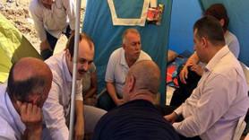 Ünlü dizi yapımcısının mağdurları çadırkent kurdu! 10 bin aile çözüm bekliyor!