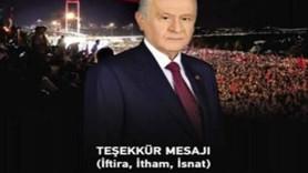 """MHP'den 'hedef gösterdi' yanıtı: """"Marksist, neo-liberal ve solcu medyanın cinneti..."""""""