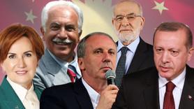 Sonuçlar yayınlandı! Muharrem İnce bu hafta ilk kez Erdoğan'ı geçti!