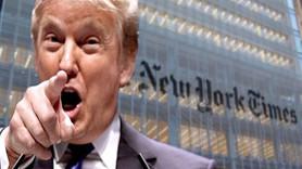 """NYT'dan Trump'a """"şiddete teşvik"""" uyarısı: Söylemleriniz yüzünden silahlı koruma tuttuk"""
