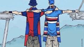 Türk karikatüristin çizgileri köprü faciasından sonra İtalya'yı birleştirdi!