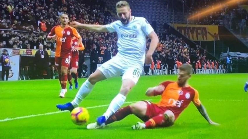 TFF, Galatasaray-Konyaspor maçındaki tartışmalı penaltıya el koydu!