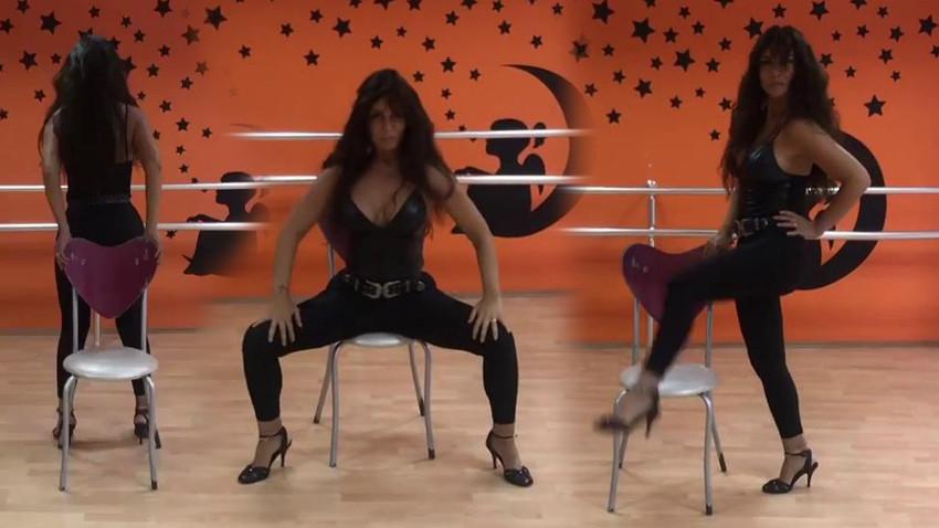 Ünlü oyuncunun eşi sandalye dansıyla olay oldu! 'Kendimi şımartmak için...'