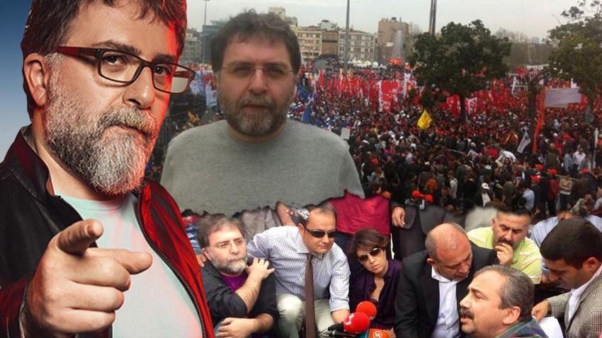Ahmet Hakan: Memet Ali Alabora, Gezi'nin fitili ateşlendikten sonra kabaran dalgada sörf yaptı