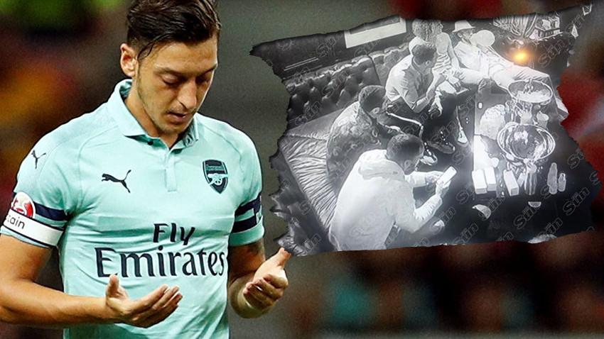 Mesut Özil'den skandal parti! 70 kadınla uyuşturucu kullanırken görüntülendi!