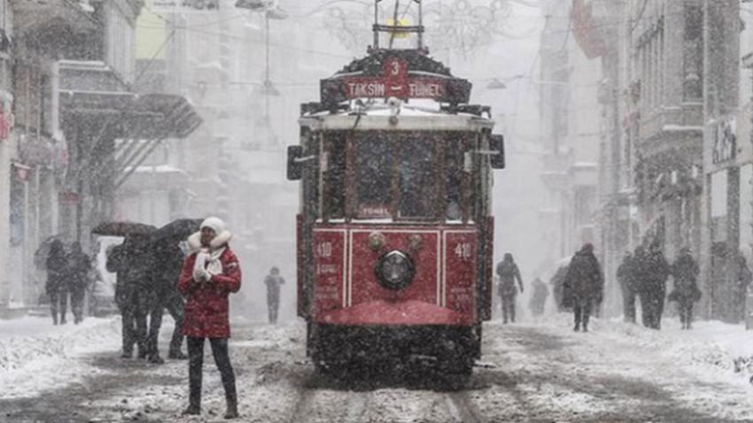 İstanbul için tarih verildi: Kar geliyor!