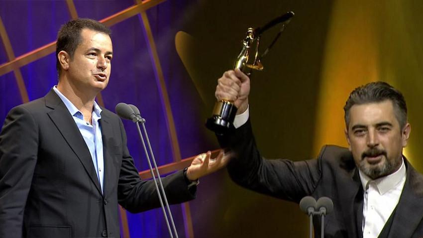 45. Pantene Altın Kelebek Ödülleri'nde Ali İhsan Varol'dan Acun Ilıcalı'ya gönderme!