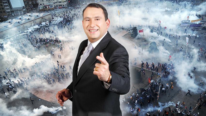 A Haber sunucusu Erkan Tan: Gezi'ye katılanların başları kesilmelidir