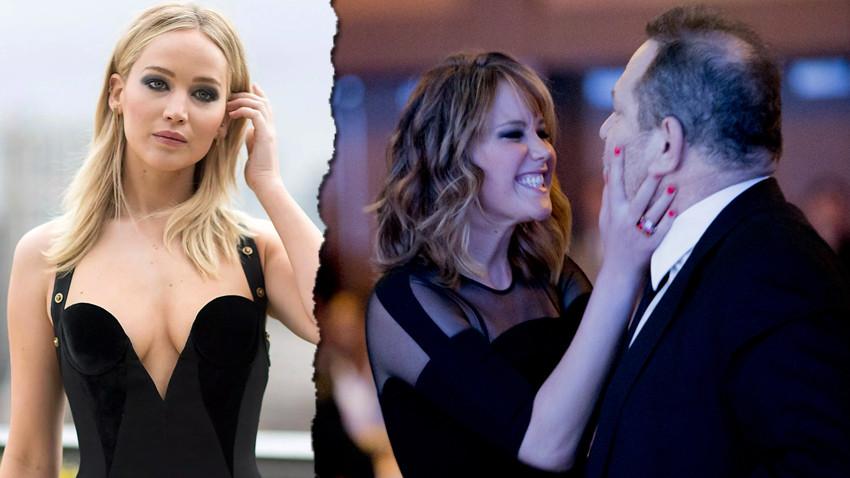 Jennifer Lawrence Harvey Weinstein'i yalanladı