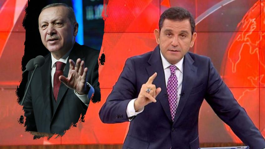 """Fatih Portakal'dan Erdoğan'a flaş yanıt! """"Edepsiz demeseydi iyiydi"""""""