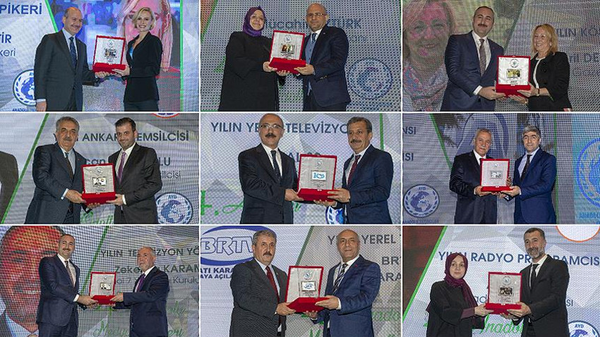 AA'ya 'Yılın Haber Ajansı' ödülü!