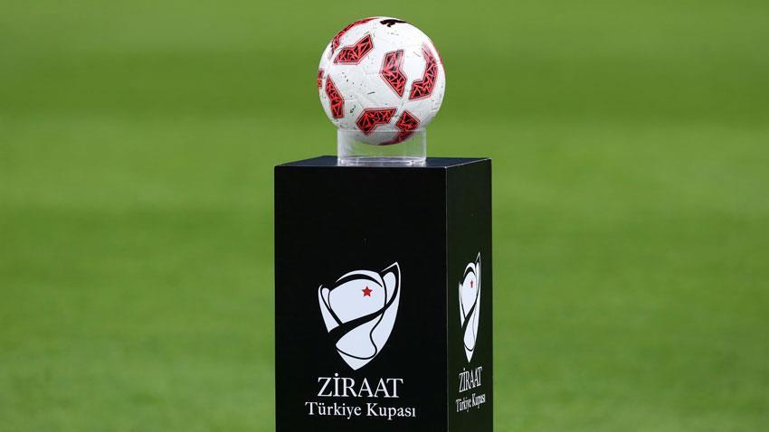 Ziraat Türkiye Kupası son 16 turu eşleşmeleri belli oldu!