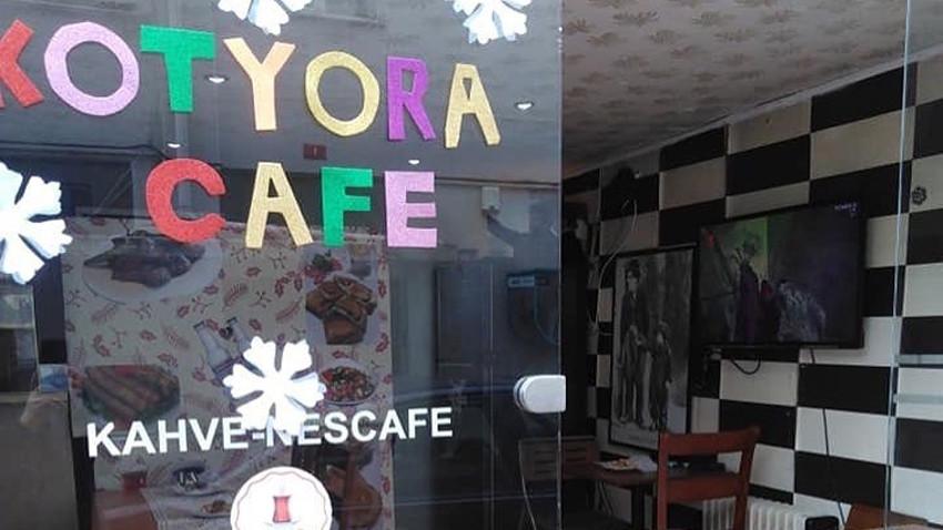 Kadıköy'de muhteşem kafe: KOTYORA!