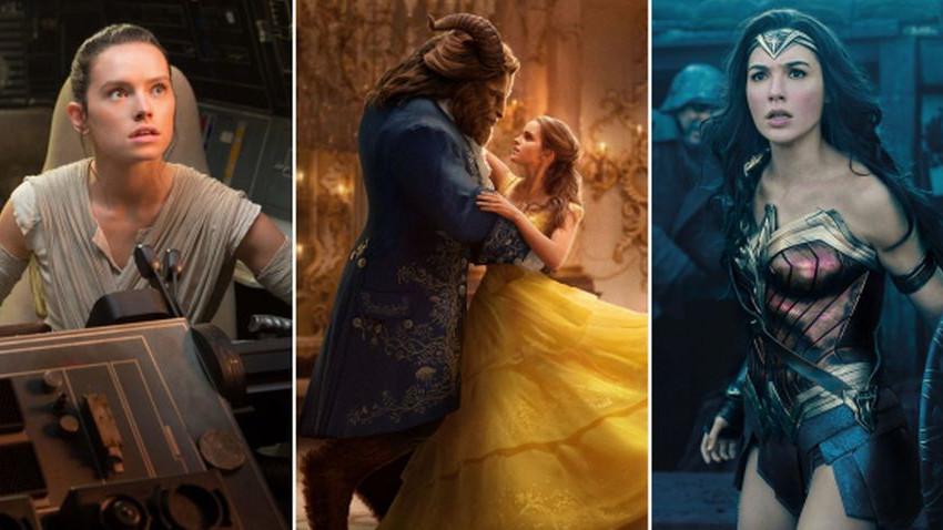 Başrolünde kadın olan filmler gişede daha çok kazandı