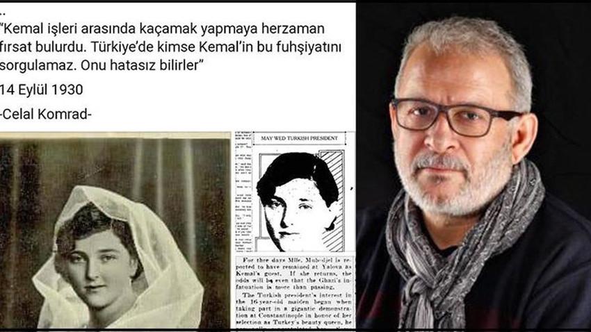 Ünlü yazardan Atatürk için skandal sözler!