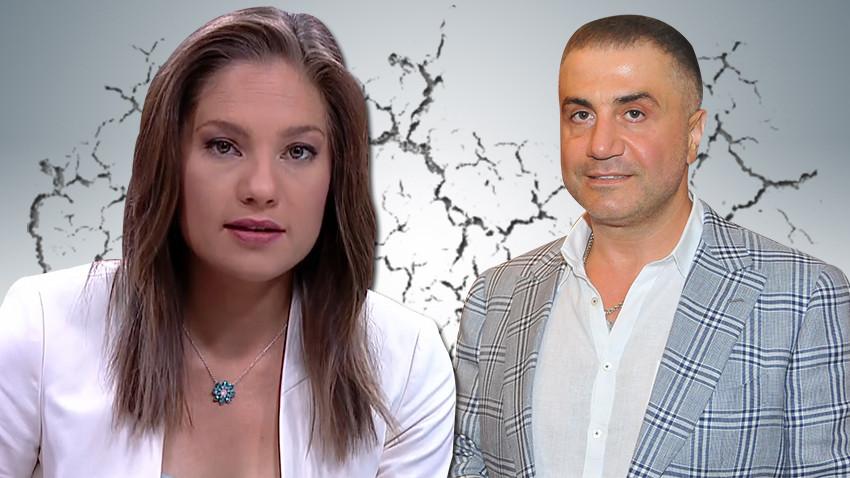 Sedat Peker ile Nevşin Mengü, sosyal medya üzerinden birbirine girdi!