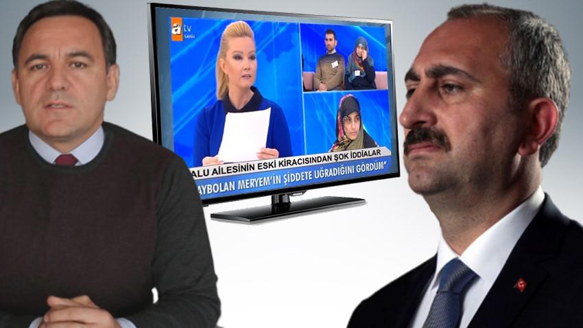 """Adalet Bakanı Gül'e Müge Anlı çağrısı! """"Ara sıra programını izlemeli!"""""""