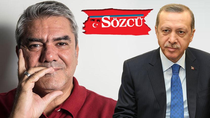 Yılmaz Özdil, Erdoğan'ı yanıtladı; Sözcü'ye sert çıktı! Kılını kıpırdatmıyor!
