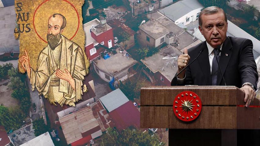 Erdoğan kayıp İncil'i bulup Papa'ya mı verdi?
