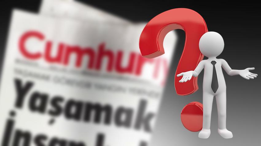 Cumhuriyet Gazetesi'nden üst düzey ayrılık! (Medyaradar/Özel)