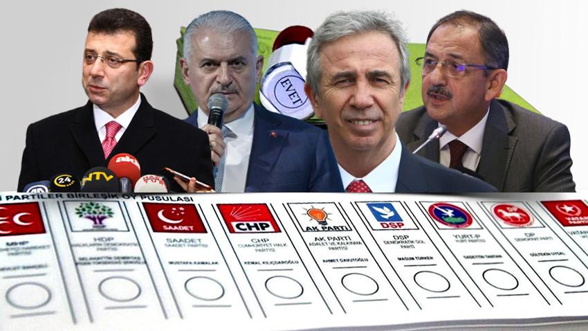 Gezici'den 31 Mart anketi! 7 büyükşehirin 5'ini AK Parti alıyor!