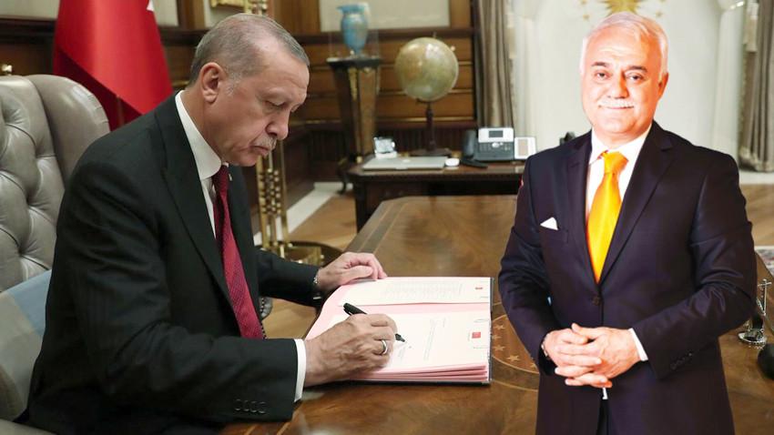 Erdoğan imzaladı; Hatipoğlu'na yeni görev!
