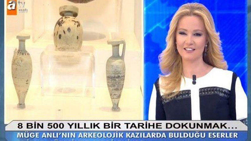 Müge Anlı bu kez tarihi eseri bulup, müzede sergilenmesini sağladı!