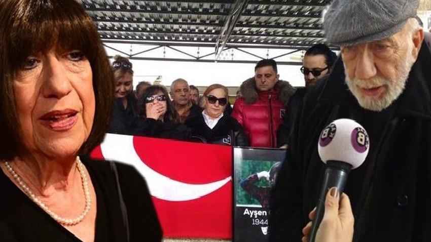 Ayşen Gruda'nın cenazesinde büyük sitem!