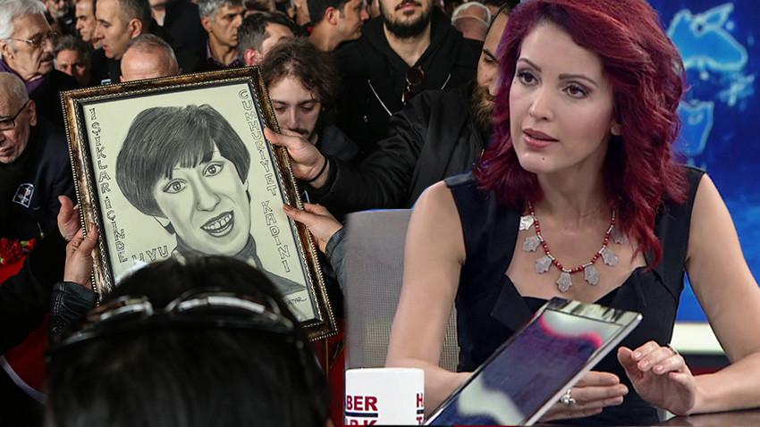 Ayşen Gruda'nın cenazesindeki utanç tablosu!