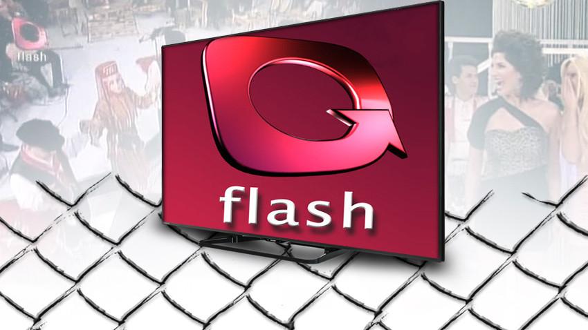 Flash TV'de gergin anlar! Greyderle yıkılmak istendi!
