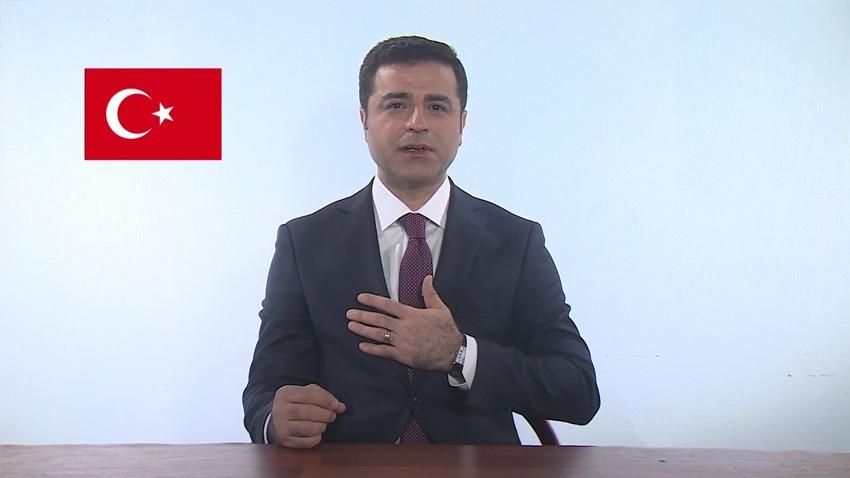 TRT, Selahattin Demirtaş videosunu YouTube'dan kaldırttı!