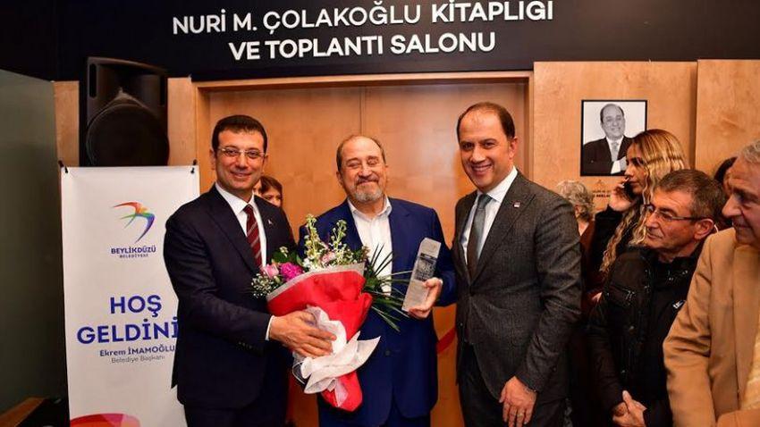 Usta gazeteci Nuri Çolakoğlu'dan büyük bağış