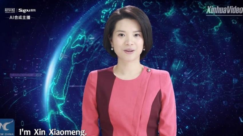 Çin, dünyanın yapay zekalı ilk kadın haber sunucusunu tanıttı