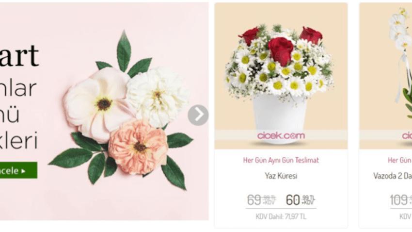 Çiçek Sepeti İndirimli Çiçekleri Kaçırmayın!