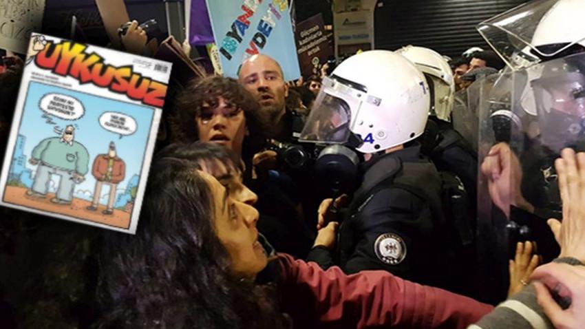 Uykusuz'dan 'ezanı protesto' kapağı