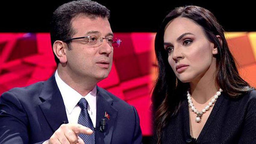 Ekrem İmamoğlu'dan Buket Aydın açıklaması: Medyaya acıyorum!