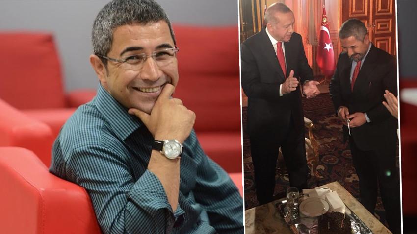 Cumhurbaşkanı Erdoğan'dan Veyis Ateş'e doğum günü sürprizi...