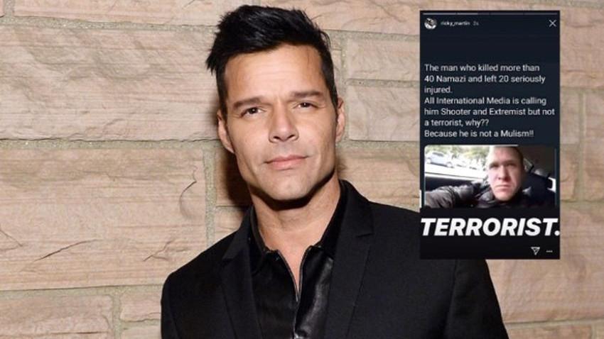 Ricky Martin'den Dünya medyasına tokat gibi sözler: Çünkü o Müslüman değil