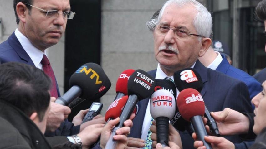 YSK Başkanı Güven'den İstanbul açıklaması!
