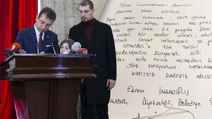 Erdoğan açıkladı: İmamoğlu'nun imzaladığı o deftere ne oldu?