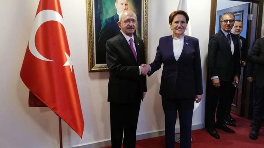 Kılıçdaroğlu ve Akşener'in açıklamalarını yayınlamayan kanallara tepki!
