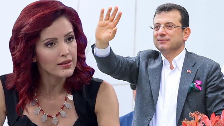 """Nagehan Alçı'dan İmamoğlu'na uyarı! """"Kesinlikle gitmemeli! Bu programını iptal etmeli"""""""