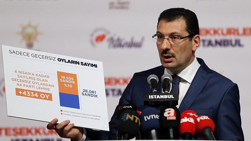 AK Parti'den YSK'ya olağanüstü itiraz dilekçesi