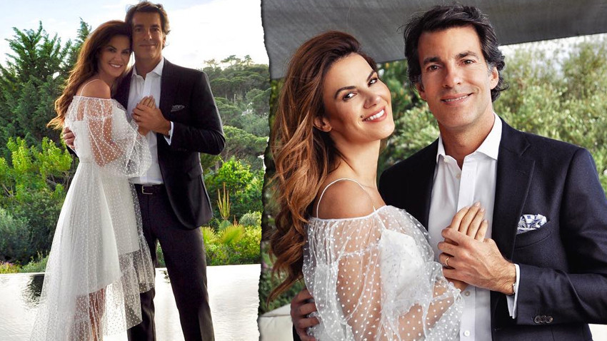 Ünlü top model Tülin Şahin evlendi