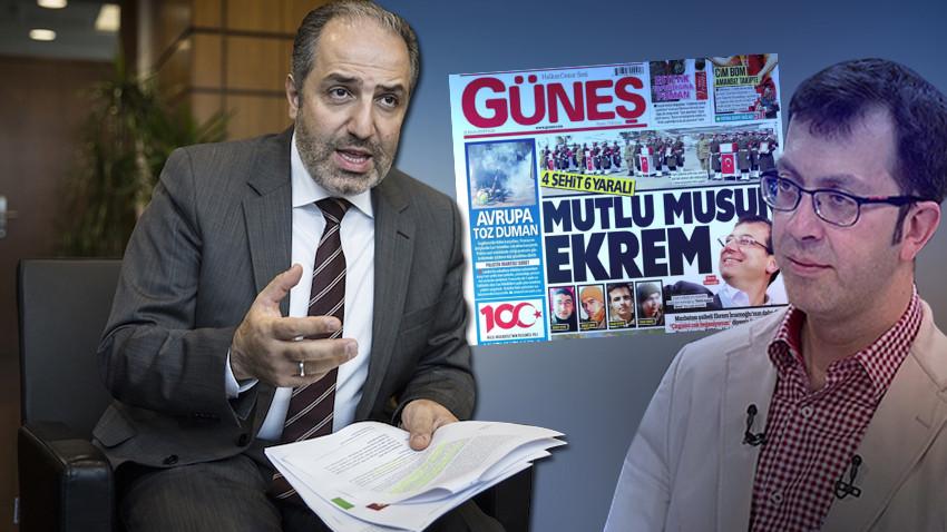 """AK Parti'den Güneş gazetesine kınama: """"Bu gazetecilik değildir"""""""