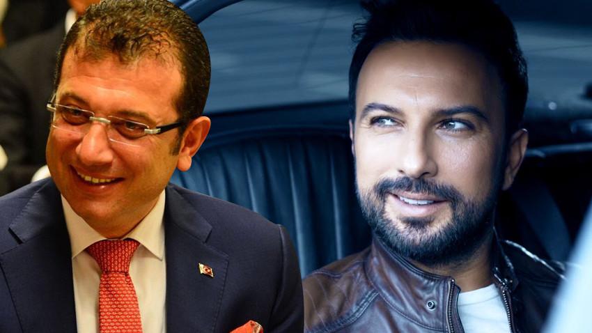 Tarkan'dan Ekrem İmamoğlu'na destek paylaşımı!